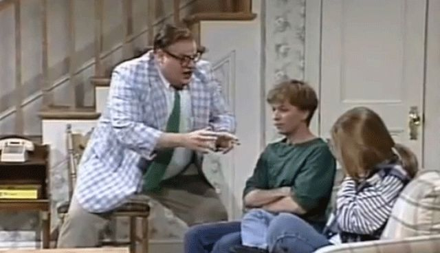 "A Pre-SNL Version of Matt Foley: Motivational Speaker....""Livin' in a VAN...down by the RIVER."""