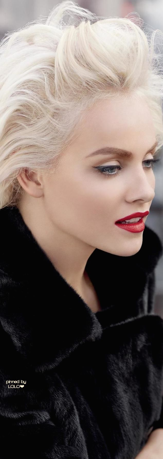 Ginta Lapina for BlackGlama | LOLO