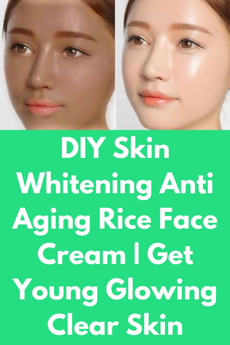 DIY Skin Whitening Anti Aging Rice Face Cream | Get Young Glowing Clear Skin This cream will control melanin production of your skin and will boost collagen production will improve your skin complexion To prepare this cream you will need Rice Water Vaseline Aloe vera gel Lemon juice What to do Take 1 big spoon of rice Add 3 cups of water Boil this for 20-25 minutes, no need …