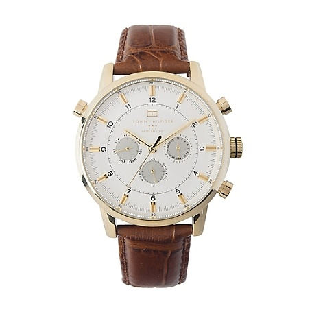 17 best images about clothing usa men ties and image for mens brown leather strap watch from tommy hilfiger usa