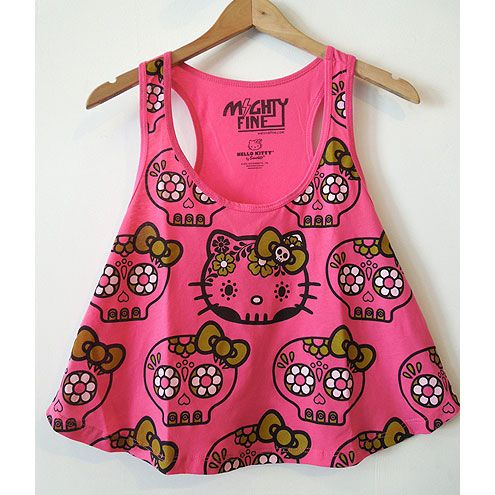 Hello Kitty Sugar Skull Tank Perfect for Summer, is this Hello Kitty