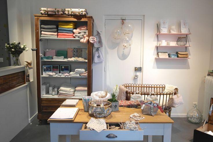 Jolie ambiance, la boutique Ernest est celest à Nantes