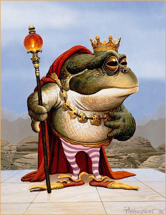 Keith Parkinson - Ploogak ...well, he is the Frog Prince, isn't he?
