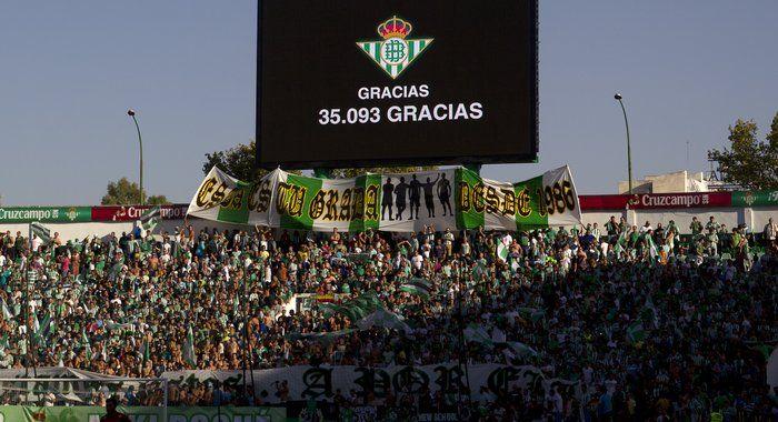 Galería fotográfica del Real Betis Balompié - CD Numancia