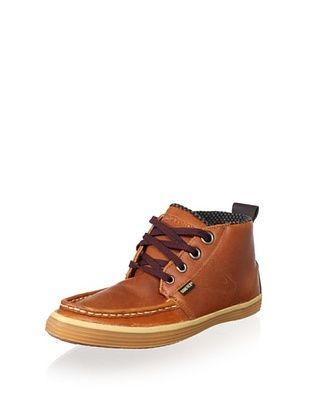 Tretorn Men's Obo GTX Leather Chukka (Brown)