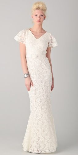 Rachel Zoe Amelie Godet gown: Lace Wedding Gowns, Wedding Dressses, Rachel Zoe, Godet Gowns, Dresses 2012, Lace Bridal Gowns, Dreams Dresses, Cotton Lace Wedding Dresses, Lace Dresses