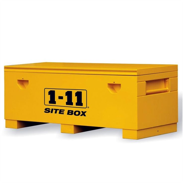Site Box Heavy Duty Extra Wide (1830mm wide) by One Eleven