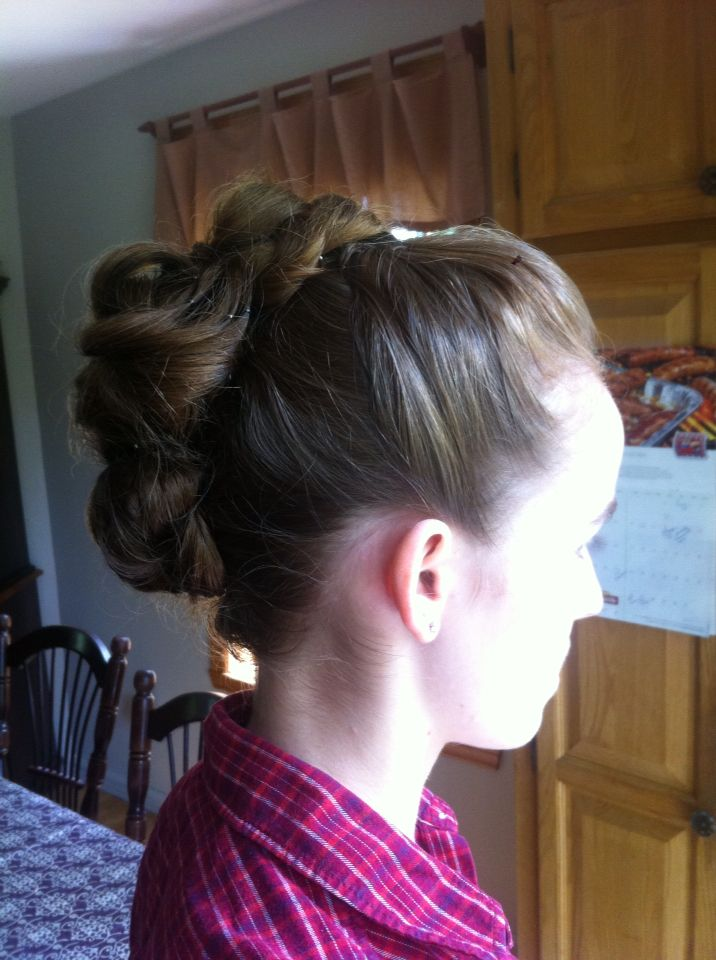 Updo for a prom!