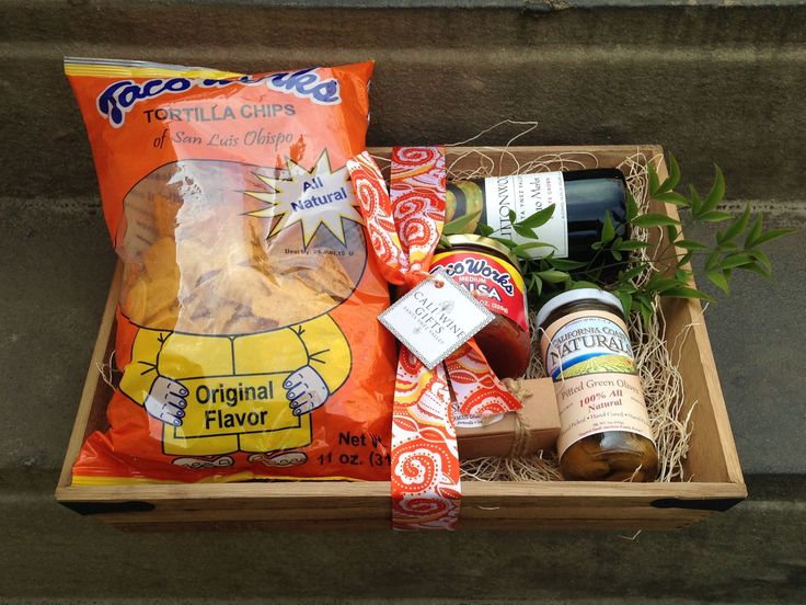 Chips and Salsa Welcome Basket