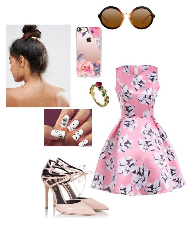 """""""Untitled #53"""" by mikala-naillon on Polyvore featuring Fratelli Karida, Casetify and Kitsch"""
