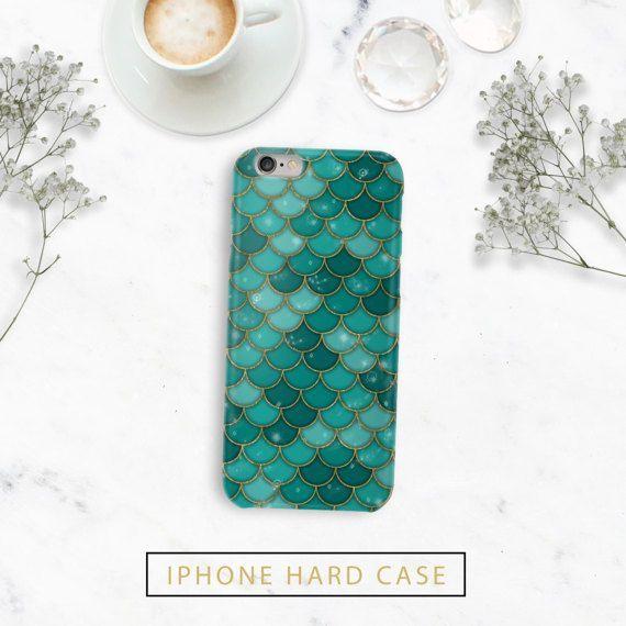 Green Mermaid Scales Phone Case - Iphone 7, 7 plus, 6, 6s, 6s plus, 6 plus, 5, 5s, 5c