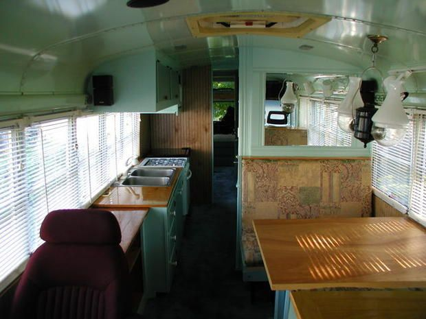 What happens to all those retired school buses?