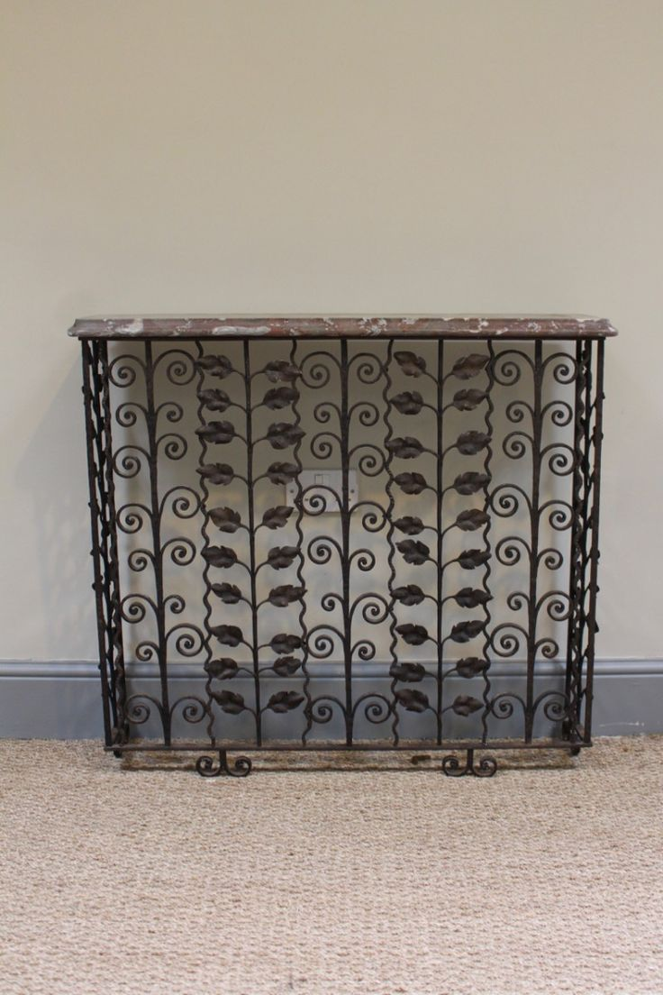 Best 25 iron console table ideas on pinterest wrought iron vintage french wrought iron console table for shop with global insured delivery at pamono geotapseo Gallery