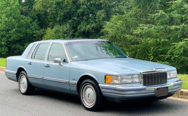 34++ Ford lincoln town car 1991 trends