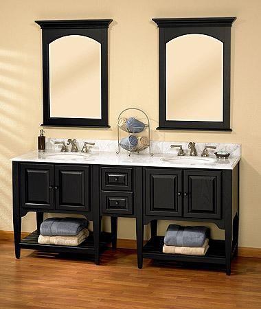 Shaker vanity cabinet american shaker 72 modular vanity 60 and up vanity vanities Fairmont designs bathroom vanity cottage