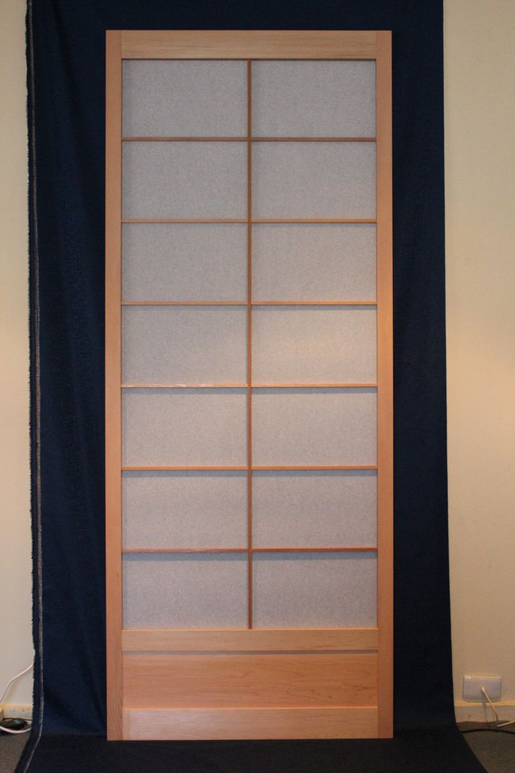 Shoji sliding door (2040mm high) by hisazendesigns on Etsy