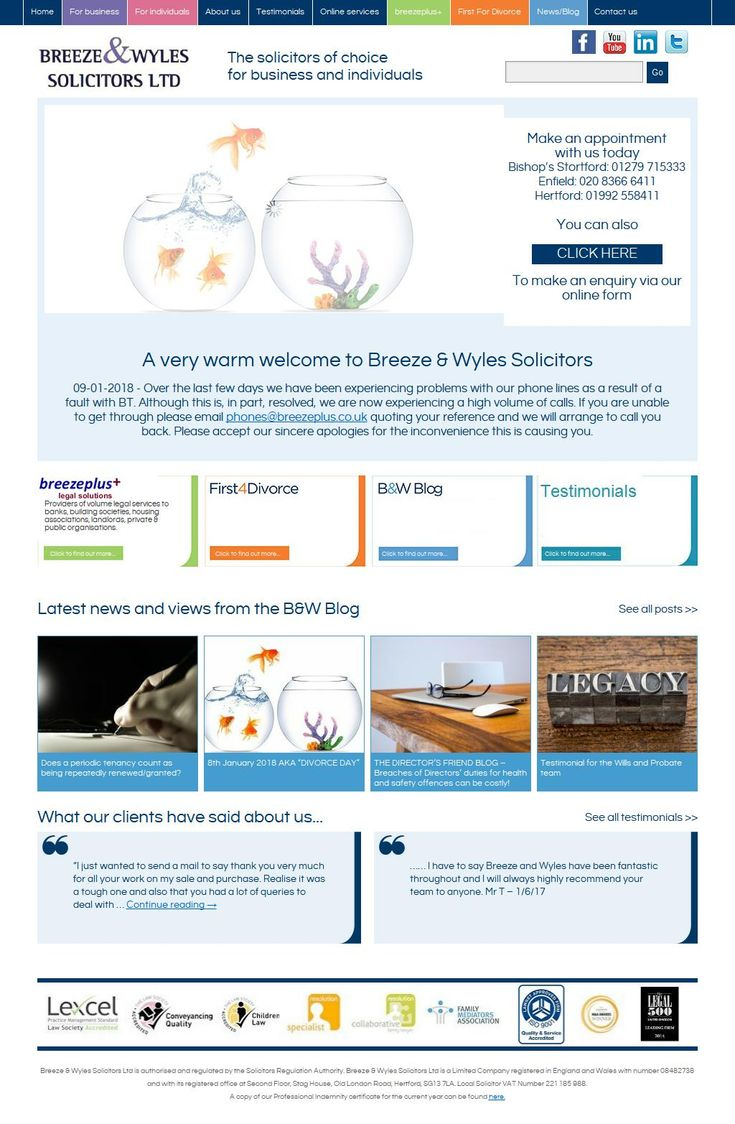 Breeze & Wyles Solicitors Turners Hill Chambers 1 Albury Gr Road Cheshunt Waltham Cross Hertfordshire EN8 8XR | To get more infomration about Breeze & Wyles, Location Map, Phone numbers, Email, Website please visit http://www.HaiUK.co.uk