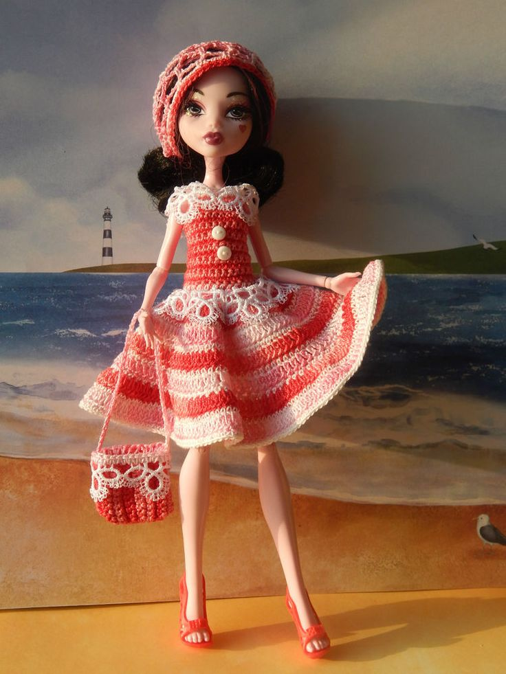 clothes and shoes for dolls MONSTER HIGH, Ever After High DOLL IS NOT INCLUDED