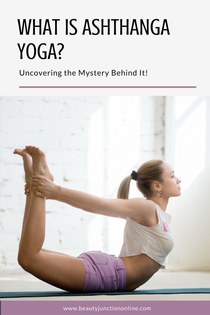 What is ashtanga yoga all about? Time to find out!