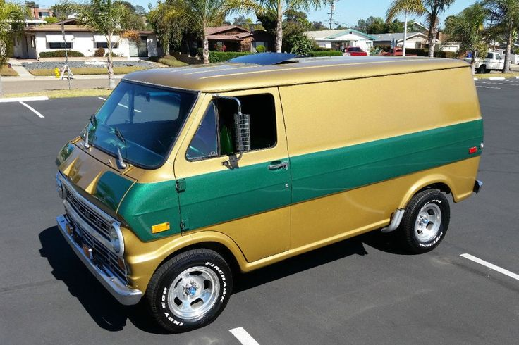 1972 Ford E-Series: Custom Shorty Van - http://barnfinds.com/1972-ford-e-series-custom-shorty-van/
