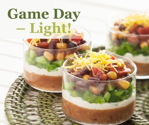 Game Day Light Assortment Recipes | Tastefully Simple