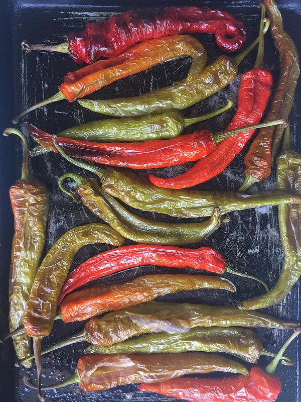 Italian Long Hots Mesilla Hybrid Peppers Recipe Stuffed Peppers Hot Pepper Recipes Stuffed Hot Peppers