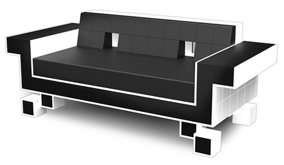 space invader sofa. Nothing more to say