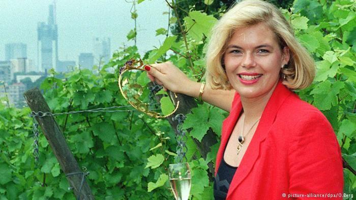 """Politics - Germany - Julia Klockner """"Former 1995-96 German Wine Queen Julia Klöckner"""""""