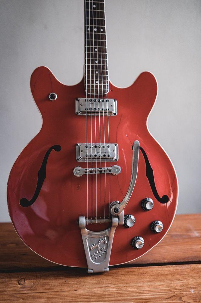Burns Baldwin 706 Semi Acoustic Electric Guitar Guitar Acoustic Electric Guitar Acoustic Electric