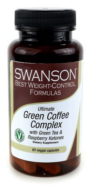 Green Coffee Complex with Green Tea & Raspberry Ketones