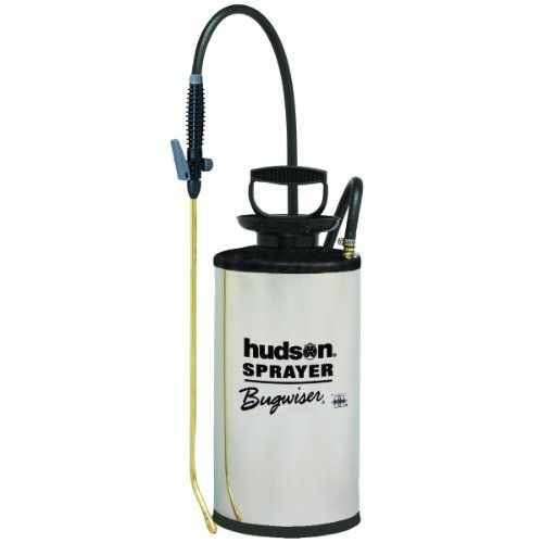 Hudson 67220 Bugwiser Stainless Steel 2 Gallon Sprayer by Hudson. $70.90. For home, lawn and garden rely on Hudson sprayers to protect against insects, weeds and plant diseases. We also make life easier with sprayers for wood deck maintenance, removing wallpaper, mildew control, and many other applications.  Concrete contractors, janitorial and sanitation maintenance workers and pest control operators turn to Hudson Professional division sprayers and accessories. Brig...