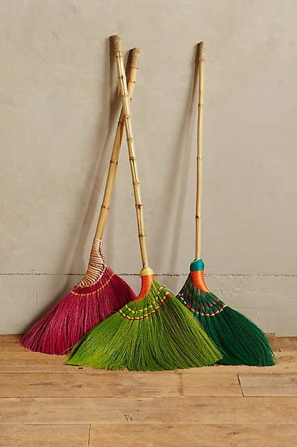 Skirted Broom. I can't even look at my dumb old broom after seeing this one.