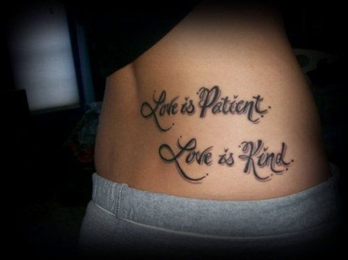 66 best images about love is patient love is kind on for Tattoos good or bad bible