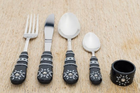 Polymer clay Serving Set
