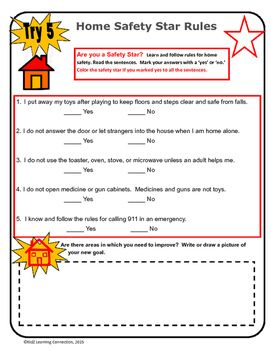 33 best images about teaching home safety on pinterest for 8 kitchen safety rules