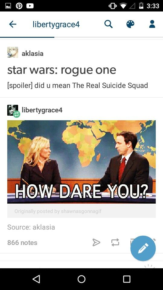 I'm pinning so much Rogue One stuff, it's ridiculous. And I'm not sorry. I loved this movie.