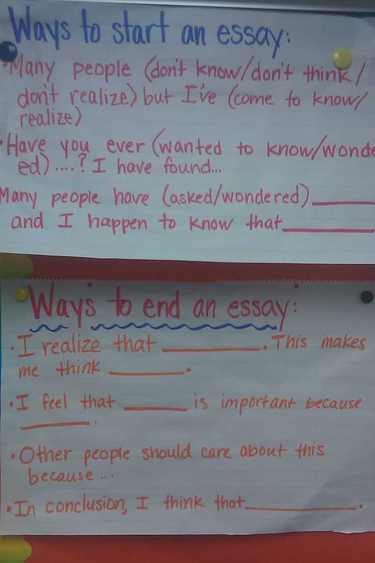 17 best images about essay writing no obligation ways to start end an essay i am sure i will need to remember