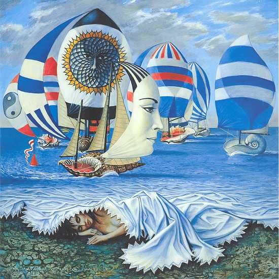 Jean-Pierre Alaux, 1925 ~ Surrealist painter