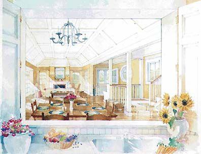 magazine house plans - house interior