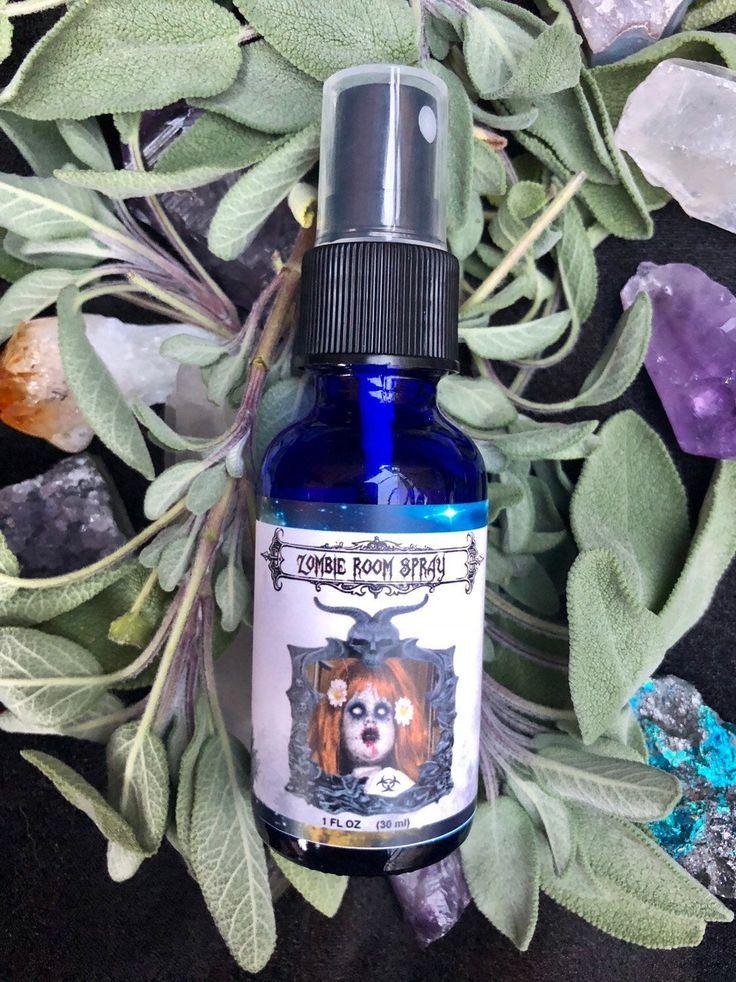 Zombie Repellent Bathroom spray Natural Air Freshener