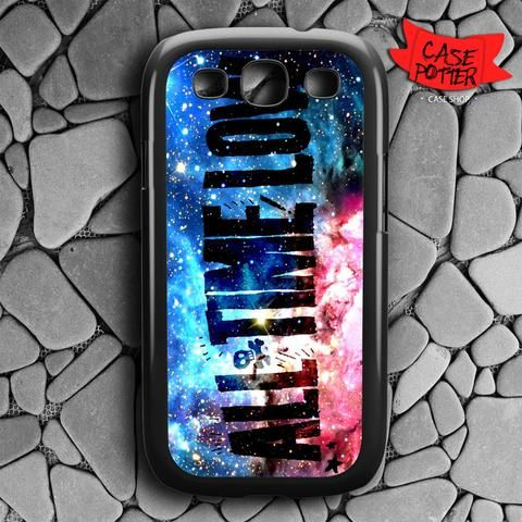 All Time Low Galaxy Nebula Samsung Galaxy S3 Black Case