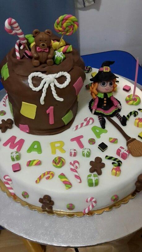 Befana birthday cake