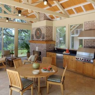 Outdoor Summer Kitchen Design Part 53
