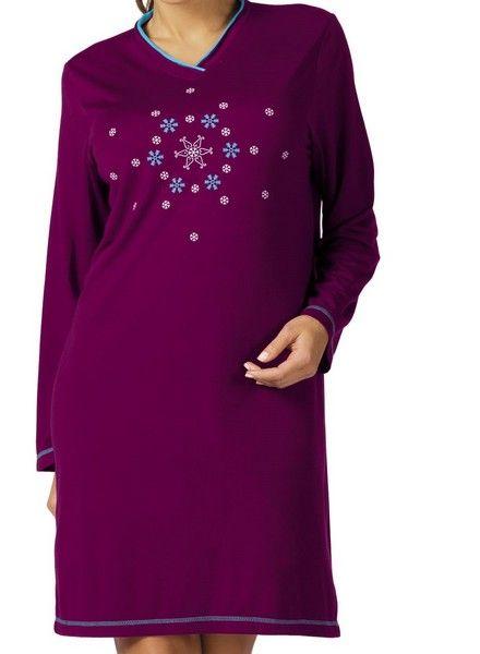 Chemise de nuit courte en coton. Pyjama dans le même modèle à découvrir. www.cetaellecetalui.com #nuisette_coton#