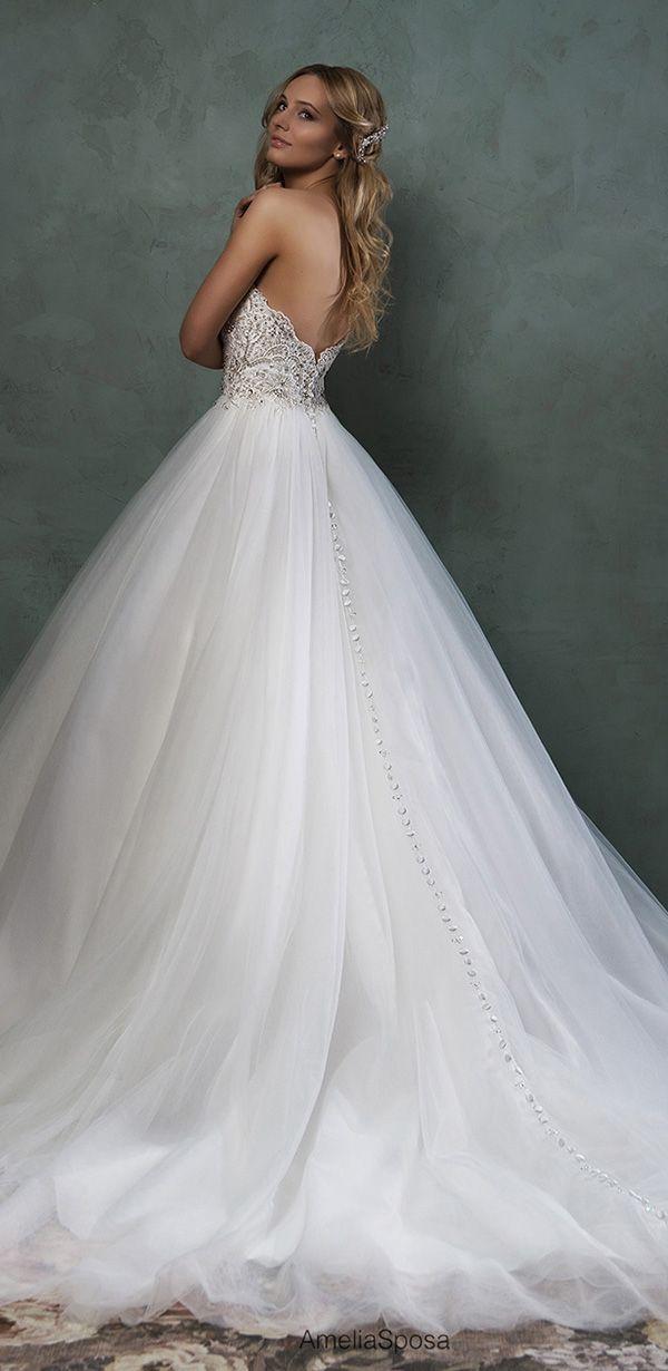 amelia sposa 2016 strapless wedding dresses giselle
