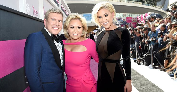 Todd, Julie, and Savannah Chrisley arrived at the 52nd Academy Of Country Music Awards in style. See their pictures from the event!