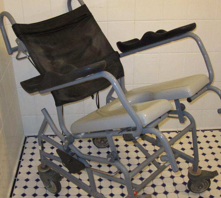 Shower Chair W/ Tilt. Watch Thousands Ofu2026