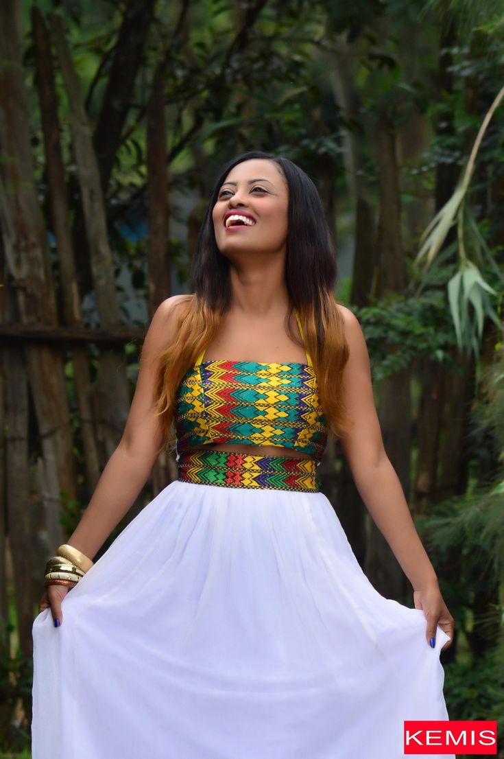 One Shoulder Dress One Sleeve Dress Ethiopian Dress