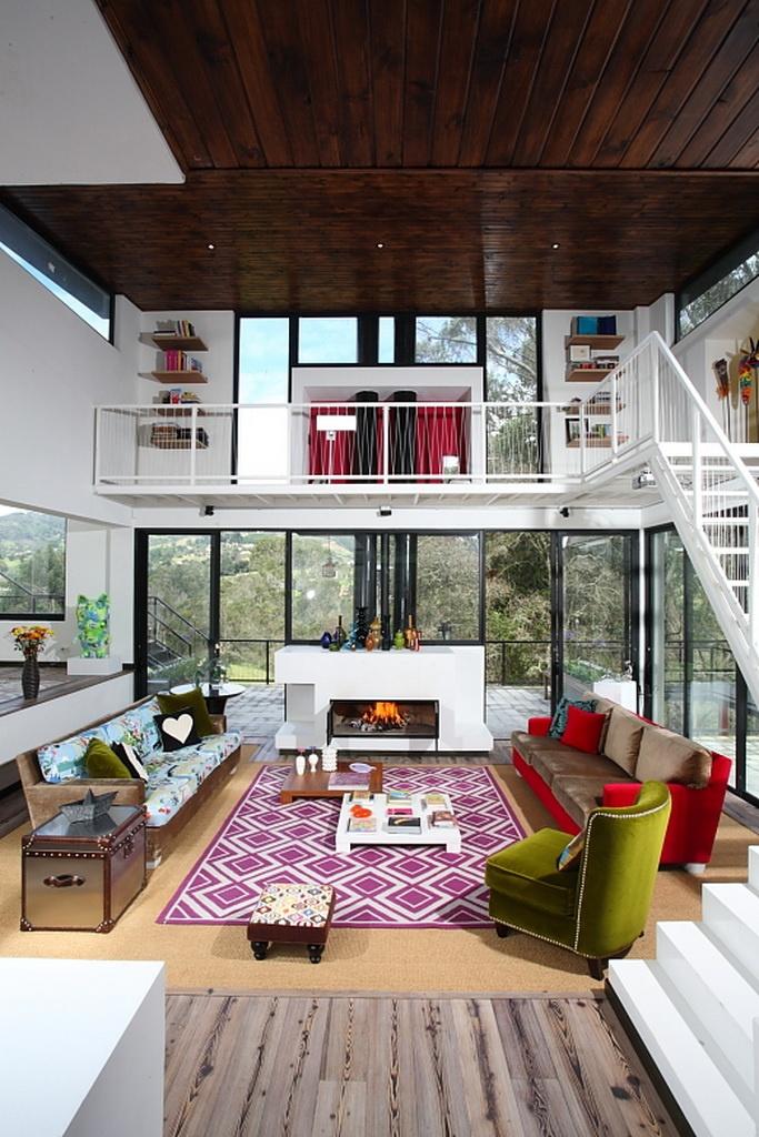 Casa Afanador-Suso. Diseñada por Jacobo Ruiz y finalista en los Premios Cemex de Arquitectura 2012.