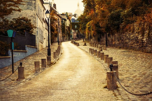 Most Romantic Places to Walk in Paris: Dreamy Strolls for Couples: Montmartre is sublime in the autumn-- and perfect all year round for Romantic walks.